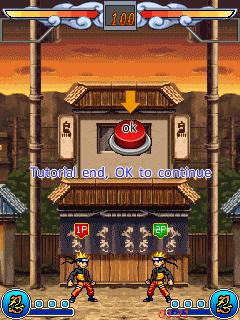 Naruto Blood Fighting 240x320